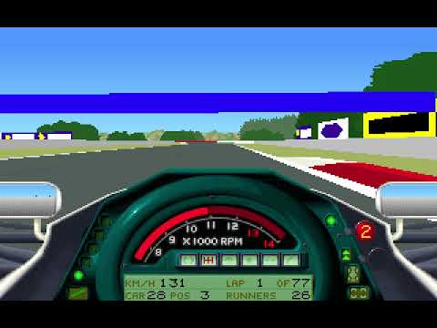 MicroProse Formula One Grand Prix Geoff Crammond 1991 Hungarian Grand Prix Round 10 (F1 1991)