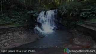 preview picture of video 'Salto Santa Rita, San Pedro. Misiones Natural'