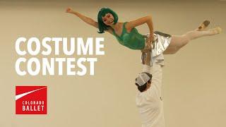 How Ballet Dancers do a Halloween Costume Contest