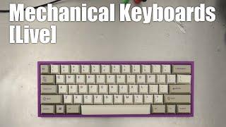 [Livestream] Mechanical Keyboards Live! - JB1830 builds a Carbon Fiber Klippe 60% with Tealios!