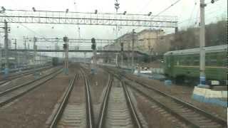 От Киевского вокзала до ст. Малоярославец в кабине ЭД4М