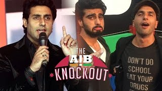 Abhishek Bachchans REACTS On AIB Knockout CONTROVERSY