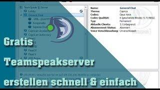 Teamspeak Server Kostenlos Online Erstellen Und Hosten - Minecraft server erstellen tutorial deutsch