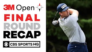 2020 3M Open Final Round Recap: Thompson gets first PGA Tour win since 2013 | CBS Sports HQ