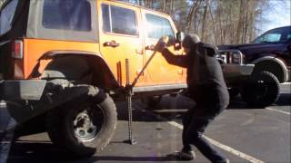 How To Use A Hi-Lift Jack Safely