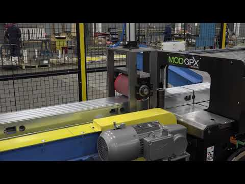 Samco Machinery Greenfield Stud and Track Rollforming Line with Master Bundler