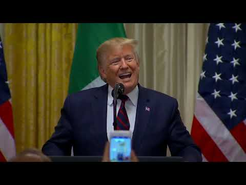 Remarks: Donald Trump Hosts a Reception in Honor of Italy at The White House - October 16, 2019