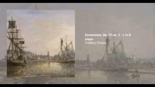 3 Ecossaises, Op. 72 no. 3