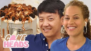 How to Make an Ice Cream Cake with How to Cake It and Mike Chen | Coneheads
