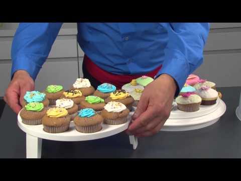Video Tescoma Delícia podnos na muffiny s poklopem 2