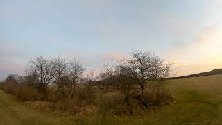 FPV Session #7 Enjoying Sunset, Trying some Freestyle and not to hit to many branches