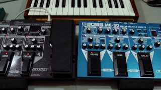 Boss ME 70 Or ME 50: DON'T BUY Before Watching. Explanation, Thoughts, Guitar FX