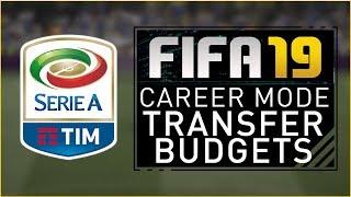 FIFA19 Career Mode - SERIE A TRANSFER BUDGETS!!