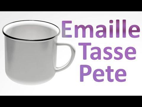 Emaille-Tasse Pete (Hier finden Sie die Händler)