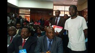 Nation writer Menya to remain in police custody - VIDEO