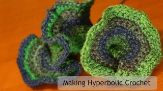 Hyperbolic Crochet - How to Video
