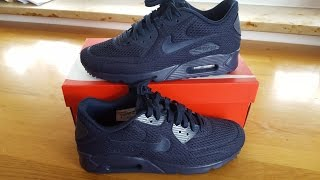 nike air max 90 donne ultra  br nero grigio scuro video