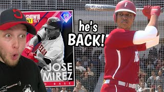 the glitch 99 JOSE RAMIREZ IS BACK and ready to DOMINATE opponents (mlb the show 20)
