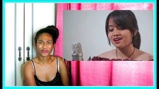 Akad   Payung Teduh Cover By Hanin Dhiya | Reaction