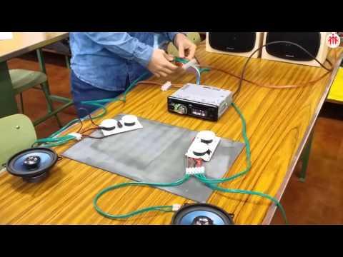 Grupo 1 Práctica 5 Instalación básica de un autorradio