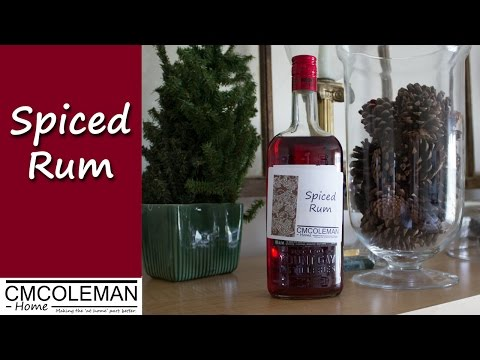 Homemade Spiced Rum Recipe