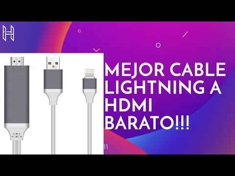 d5aeef0f673 MEJOR CABLE IPHONE A HDMI (CHOLLAZO)✅✅✅ ▻Hoidokly Cable Lightning a