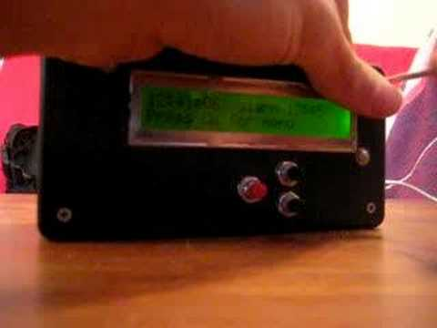 Home-Made Alarm Clock Beeps Until You Solve a Mathematical Problem