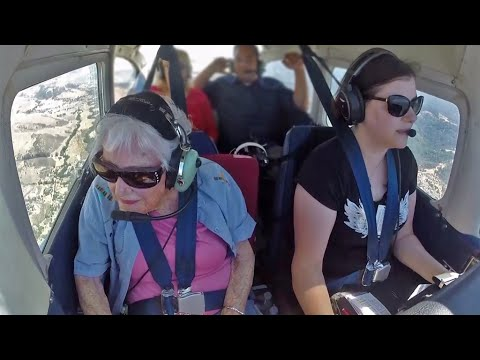 100-Year-Old Pilot Flies High With a Little Help From Her Friends