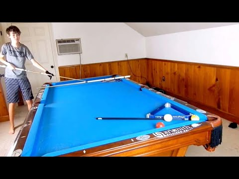 Incredible Pool Trick Shots