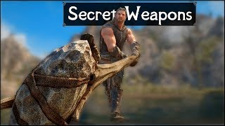 Skyrim: 5 More Secret and Unique Weapons You May Have Missed in The Elder Scrolls 5: Skyrim