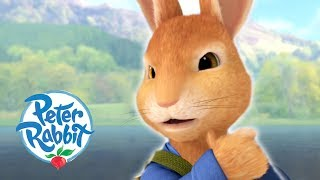 Peter Rabbit - Trapped on the Lake | Cartoons for Kids