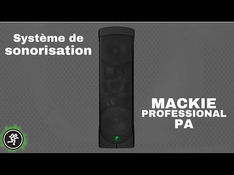 MACKIE REACH PROFESSIONAL PA : Un système de sonorisation polyvalent (vidéo de la boite noire)