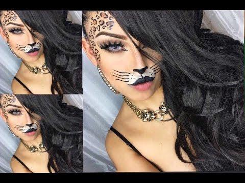 sexy Leopard Halloween Makeup