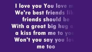 Barney - I Love You (Lyrics)
