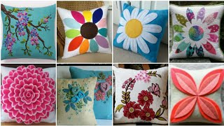 Beautiful Decorative Cushions And Pillows Cover Designs 2020 / Applique Pillow / Cushion Cover