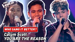 """Who sang Calum Scott's """"You Are The Reason"""" the best? 