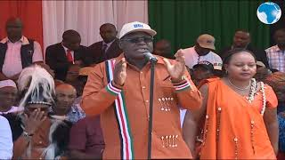 One man, one vote, one shilling - Governor Nyoro
