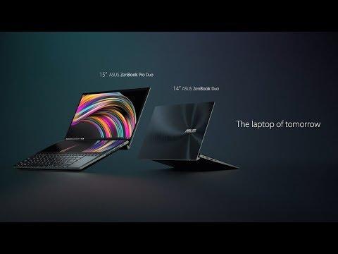 """ASUS ZenBook Duo UX481FL-BM042R (14"""", Full HD, Intel Core i7-10510U, 16Go, 1000Go, SSD)"""