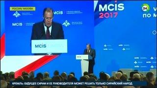 Лавров: Борьбе с терроризмом мешают амбиции и двойные стандарты - МИР24