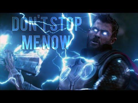 MARVEL    Don't stop me now [Queen] (видео)