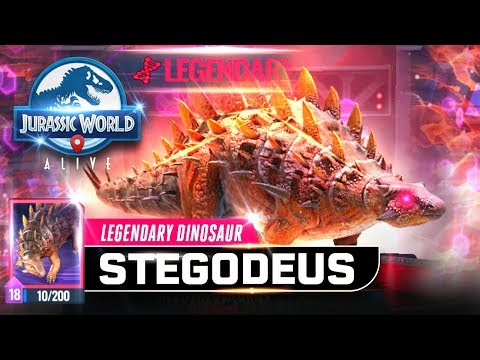 Jurassic World Alive - New Ankylocodon Hybrid Unlocked