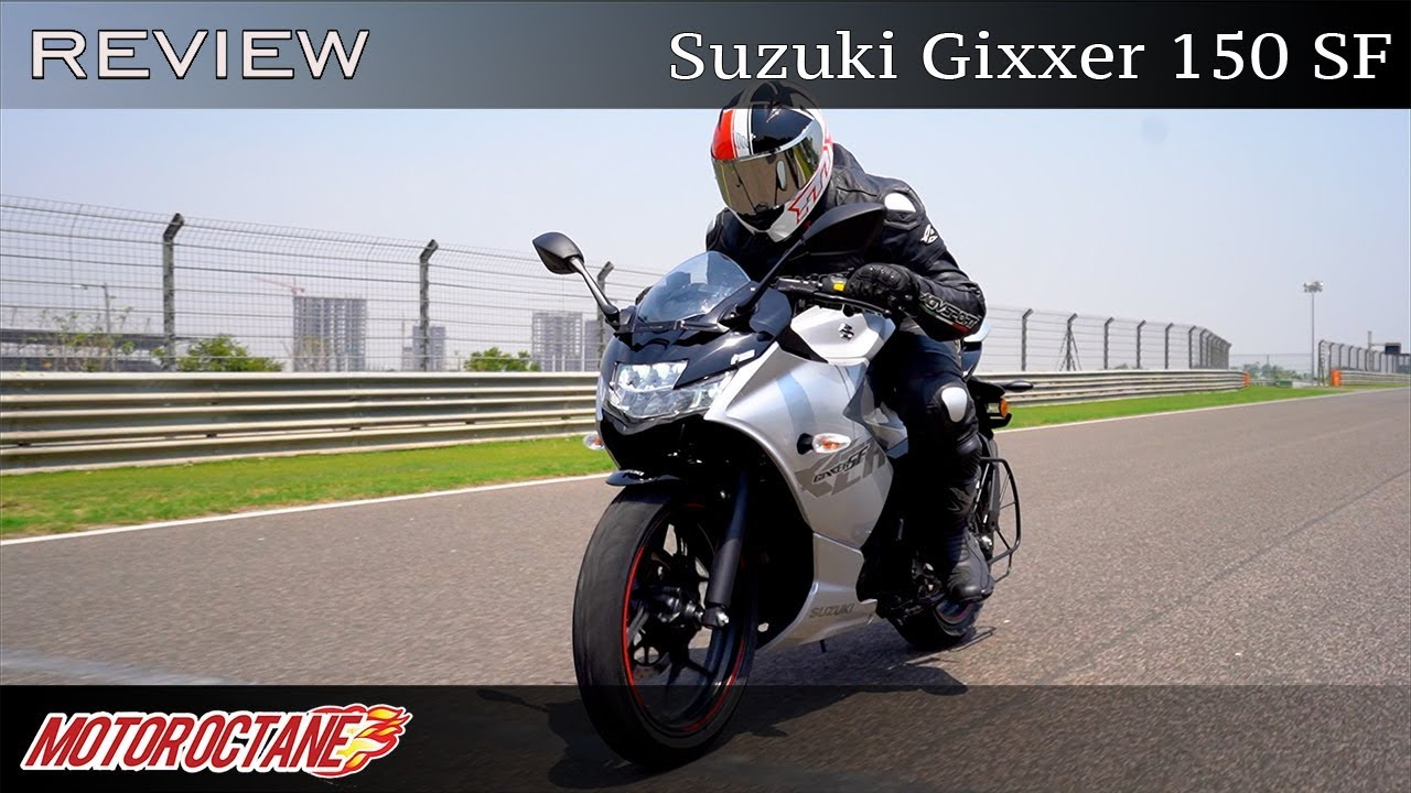 Motoroctane Youtube Video - Suzuki Gixxer 150 SF Review | Hindi | MotorOctane