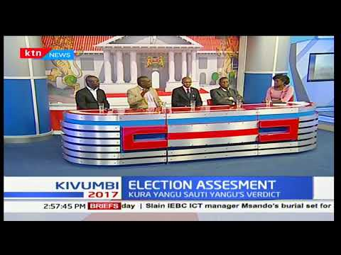 Concerns raised by the 'Kura yangu sauti yangu' on the just concluded elections