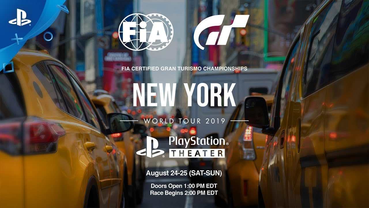 Attend or Stream the FIA Gran Turismo Championships Next Weekend