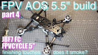 AOS 5.5 freestyle build | Joshua Bardwell JBF7 | FPV CYCLE | HD drone quad DJI AIR UNIT PART 4