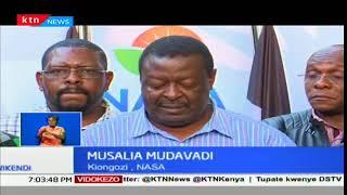 Raila Odinga hataapishwa kama ilivyo pangwa na NASA