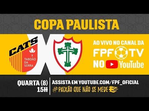 Taboão da Serra 1 x 1 Portuguesa - Copa Paulista 2018