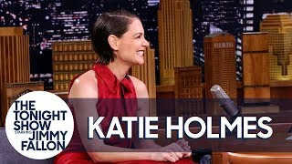 Katie Holmes talks to Jimmy about how her daughter's skiing skills are causing her trouble, and she recounts the time she nearly missed her shot to star on Dawson's Creek because of her high school play.  Subscribe NOW to The Tonight Show Starring Jimmy Fallon: http://bit.ly/1nwT1aN  Watch The Tonight Show Starring Jimmy Fallon Weeknights 11:35/10:35c Get more Jimmy Fallon:  Follow Jimmy: http://Twitter.com/JimmyFallon Like Jimmy: https://Facebook.com/JimmyFallon  Get more The Tonight Show Starring Jimmy Fallon:  Follow The Tonight Show: http://Twitter.com/FallonTonight Like The Tonight Show: https://Facebook.com/FallonTonight The Tonight Show Tumblr: http://fallontonight.tumblr.com/  Get more NBC:  NBC YouTube: http://bit.ly/1dM1qBH Like NBC: http://Facebook.com/NBC Follow NBC: http://Twitter.com/NBC NBC Tumblr: http://nbctv.tumblr.com/ NBC Google+: https://plus.google.com/+NBC/posts  The Tonight Show Starring Jimmy Fallon features hilarious highlights from the show including: comedy sketches, music parodies, celebrity interviews, ridiculous games, and, of course, Jimmy's Thank You Notes and hashtags! You'll also find behind the scenes videos and other great web exclusives.  Katie Holmes Passed on Auditioning for Dawson's Creek for Her High School Play http://www.youtube.com/fallontonight