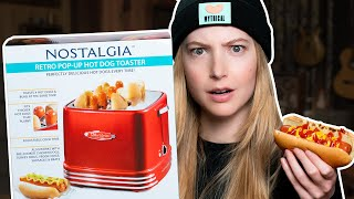 Does The Hot Dog Toaster Actually Work? (TEST)