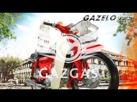 Review Super Cub Reborn, Gazgas Gazelo 125